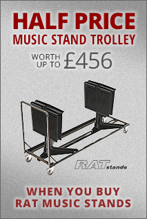 Free Rat Music Stand Trolley