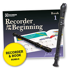 Recorder from the Beginning Pupil Book 1 & Descant Recorder Bundl