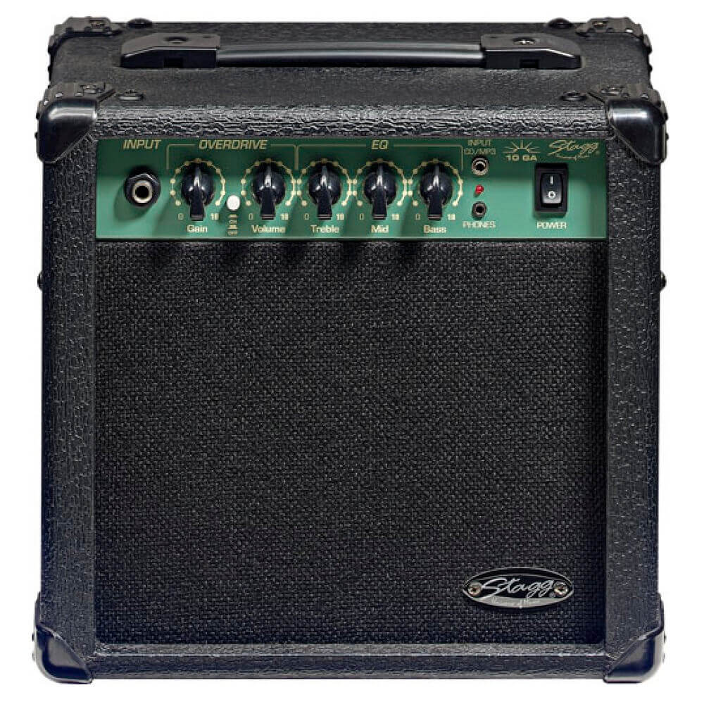 Stagg 10W electric guitar combo amplifier