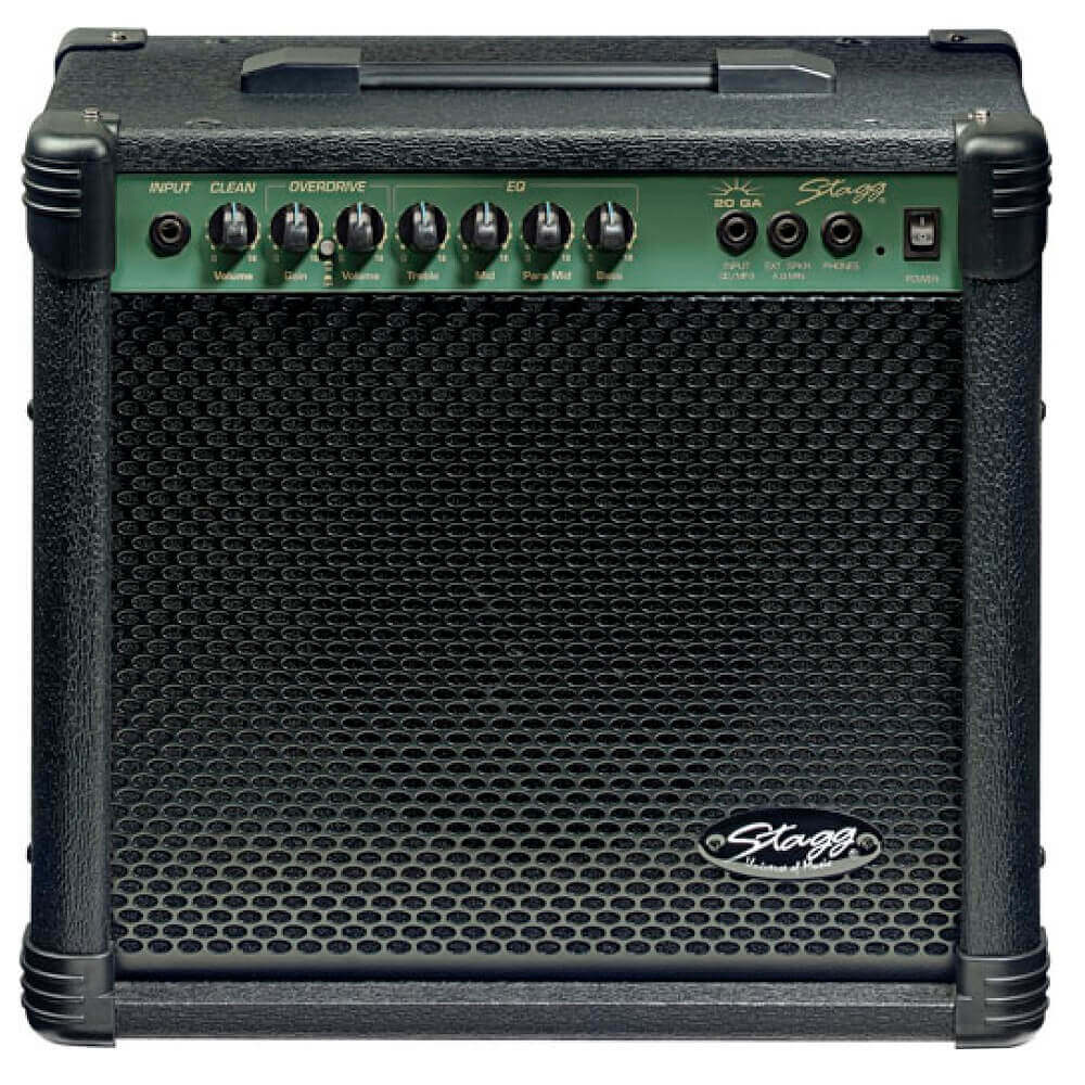 Stagg 20W electric guitar combo amplifier