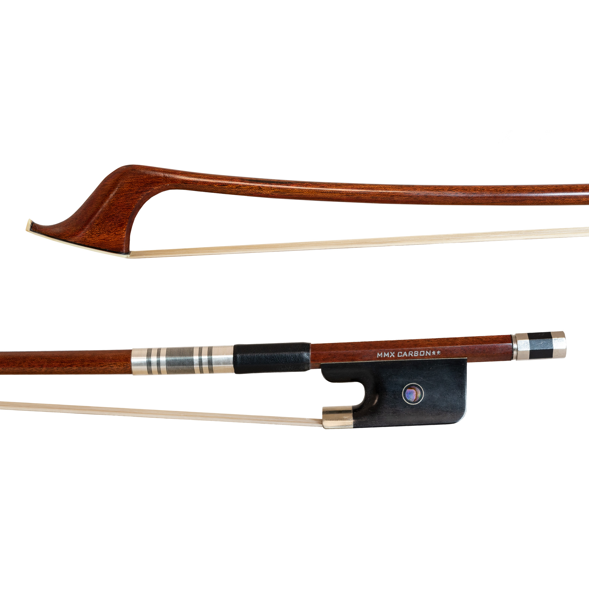 MMX carbon composite veneer French style double bass bow 3/4