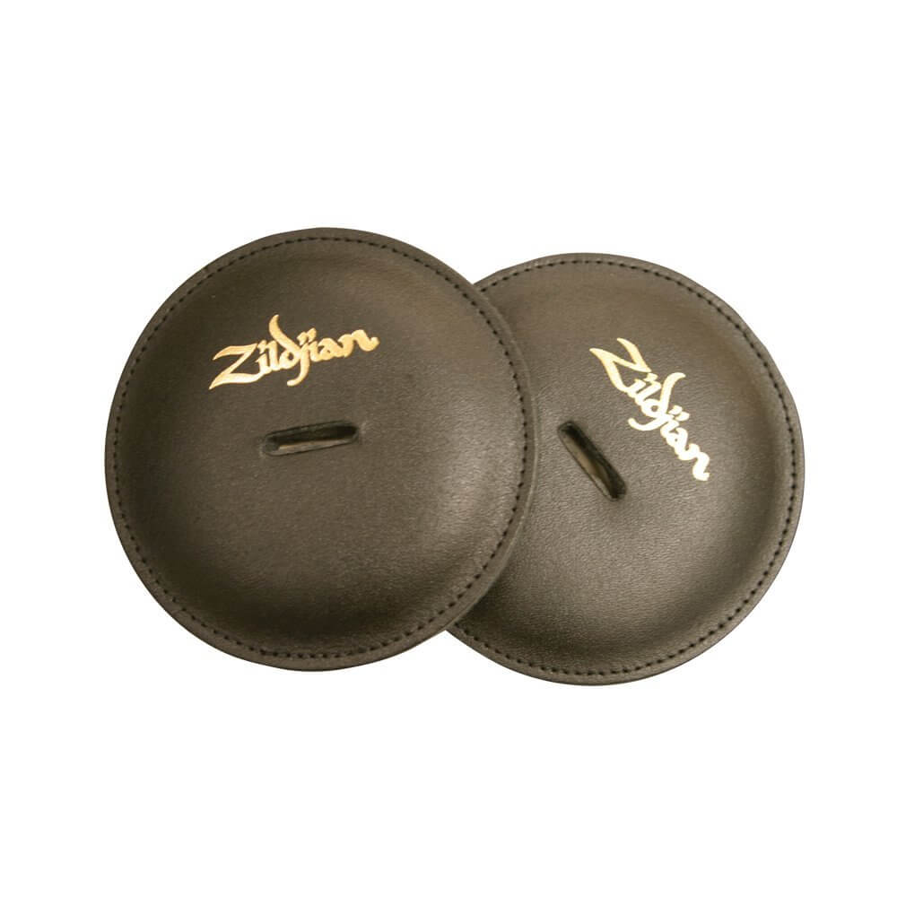 Zildjian pair of leather cymbal pads