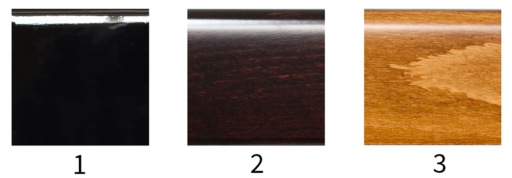 Choose from one of our 11 finishes
